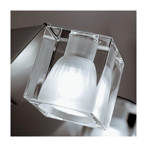 Cubetto Crystal Glass D03 crystal Wandleuchte