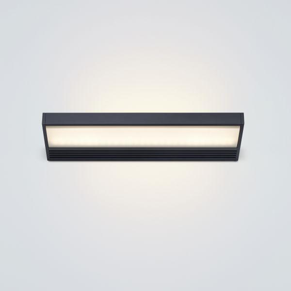 SML LED 300 Wandleuchte - schwarz lackiert