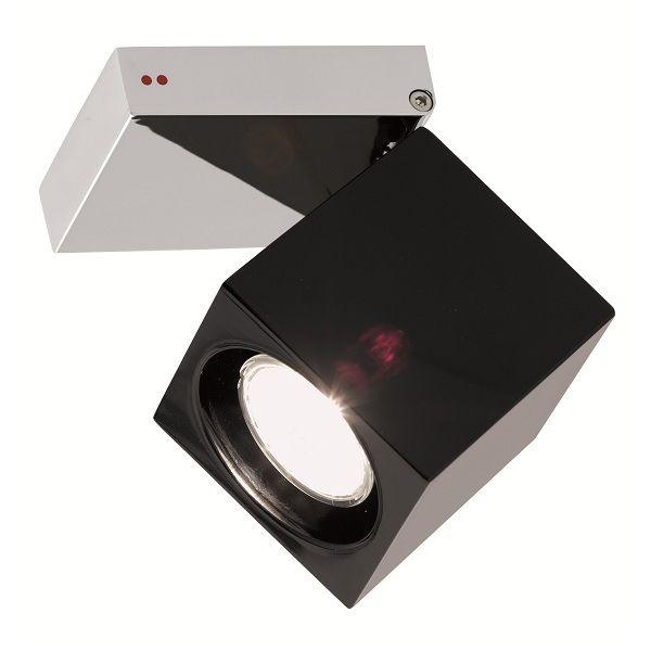 Cubetto  Glass G03 schwarz Deckenleuchte