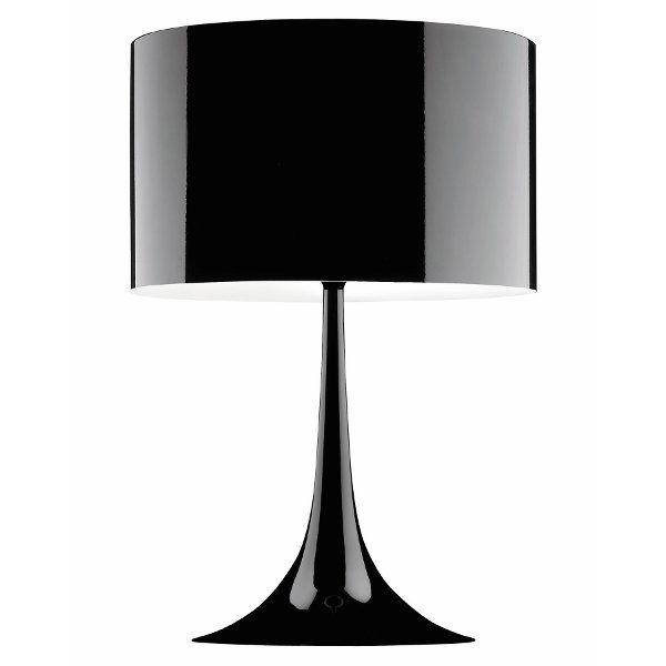 Spun Light Tischleuchte in schwarz