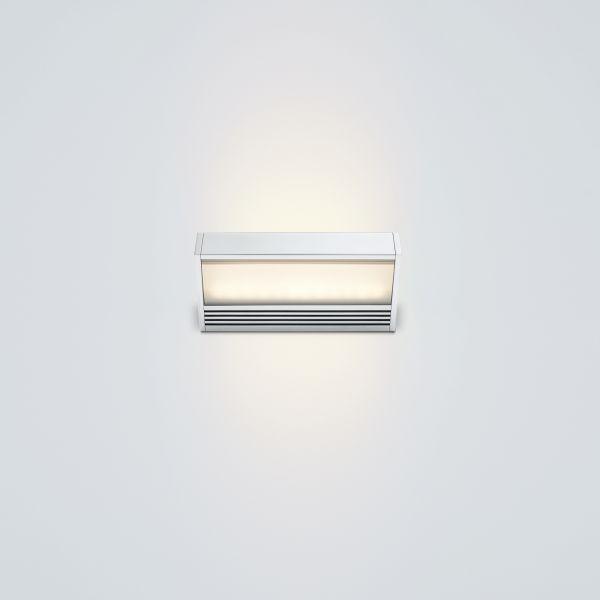 SML LED 150 Wandleuchte silber lackiert