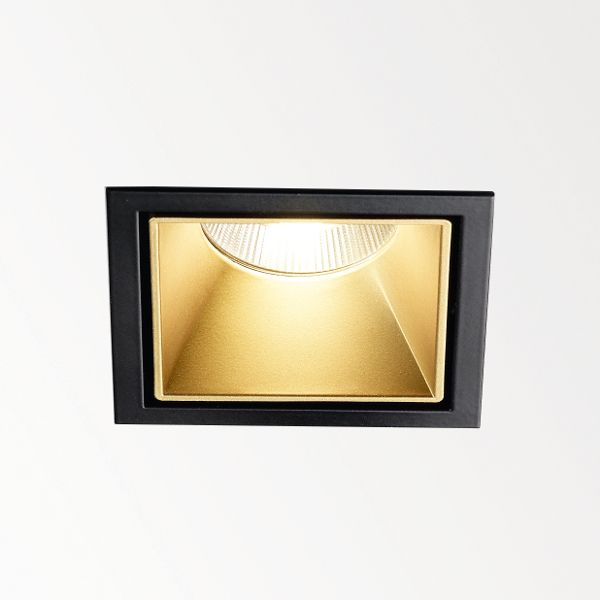 Carree ST L LED Downlight Gold