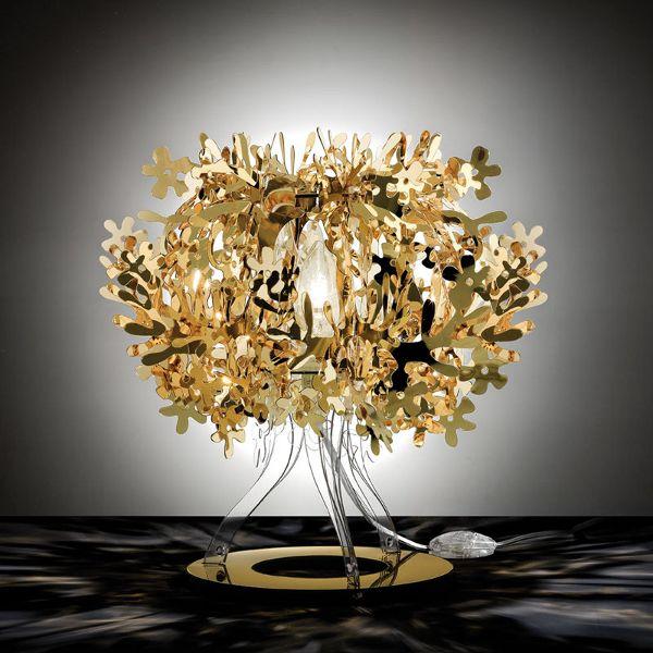Fiorellina Metallic Tischleuchte Gold