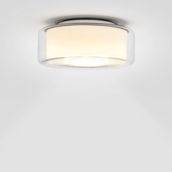Curling klar / zylindrisch opal LED Deckenleuchte