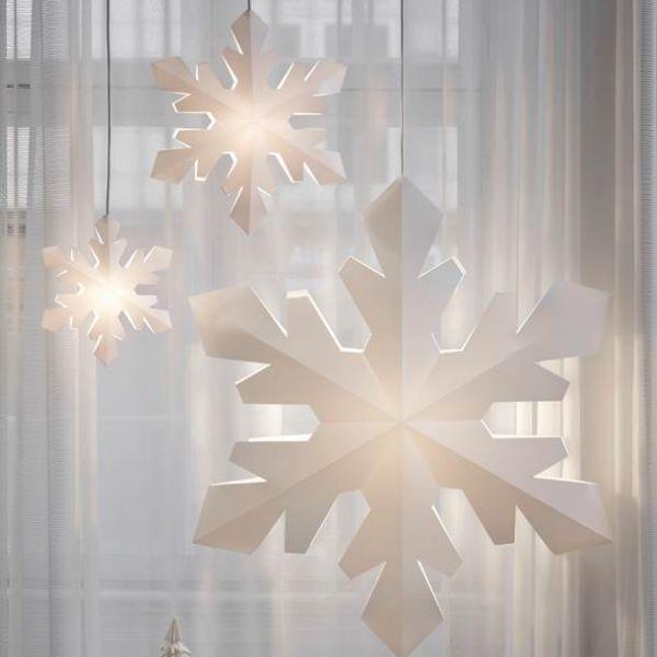 Snowflake Pendelleuchten