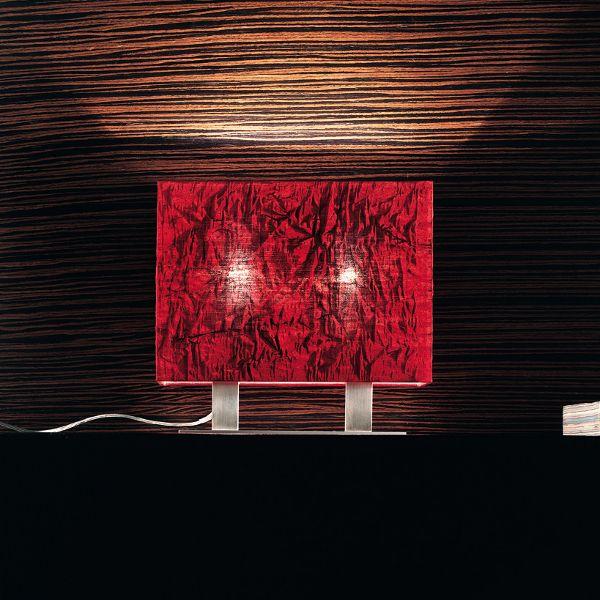 Dress R CO/TA Tischleuchte, rot