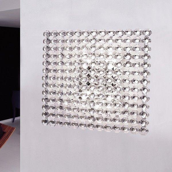 Topazio 39x39 Decken-/Wandleuchte