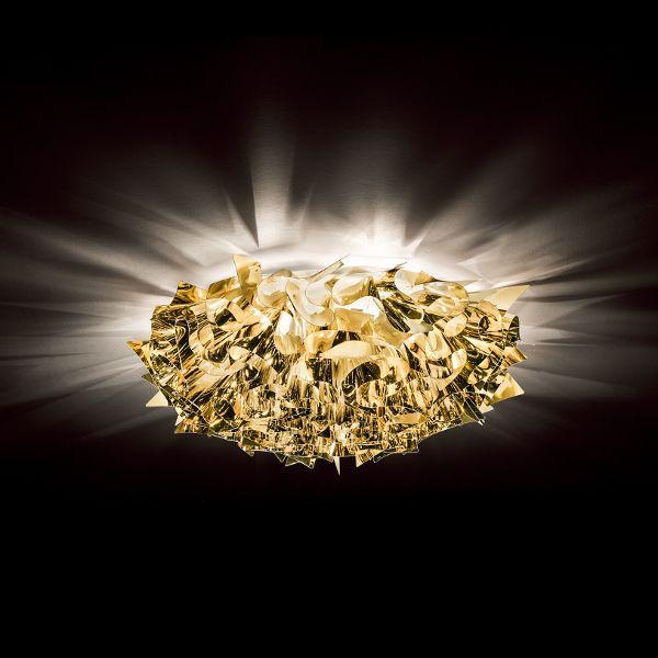 Veli Metallic Wand-/ Deckenleuchte large Gold