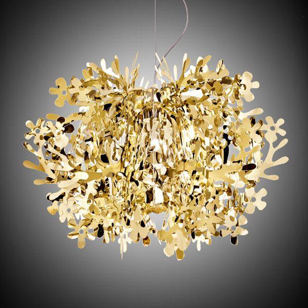 Fiorella Metallic Hängeleuchte Gold