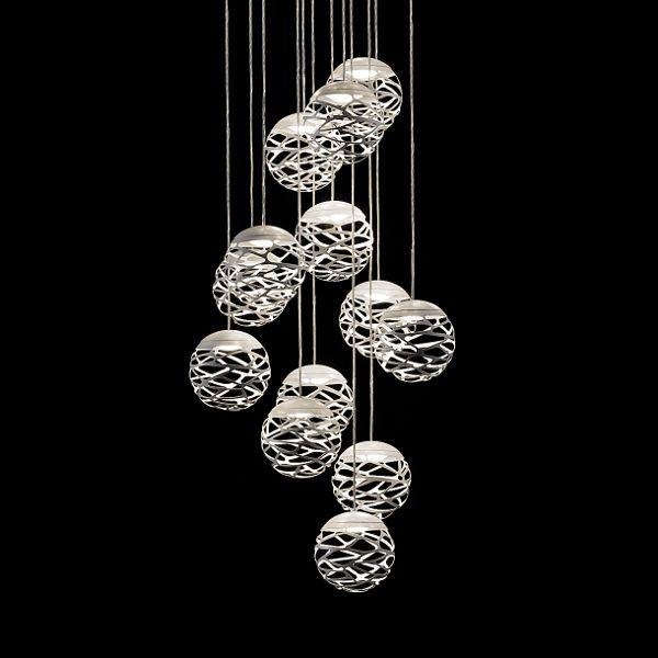 Kelly Cluster 14 Spheres Pendelleuchte