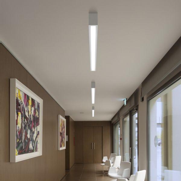 Box LED Deckenleuchte