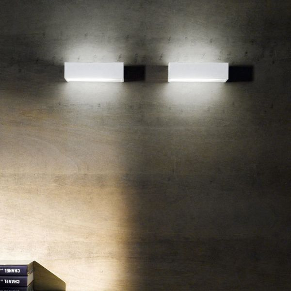 Box LED Wandleuchte