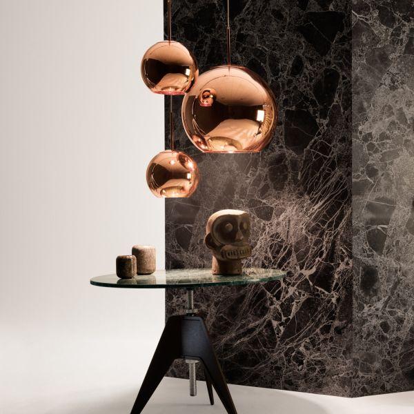 Copper kupfer Leuchtengehänge