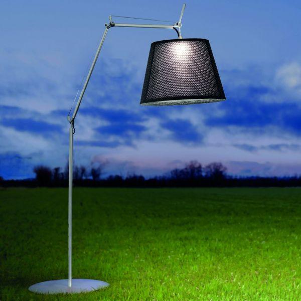 Tolomeo LED Außenstehleuchte Basalt