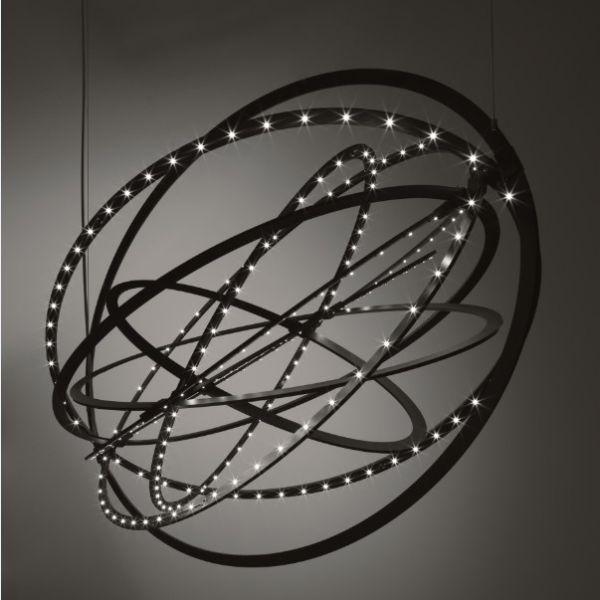 Copernico Hängeleuchte in schwarz