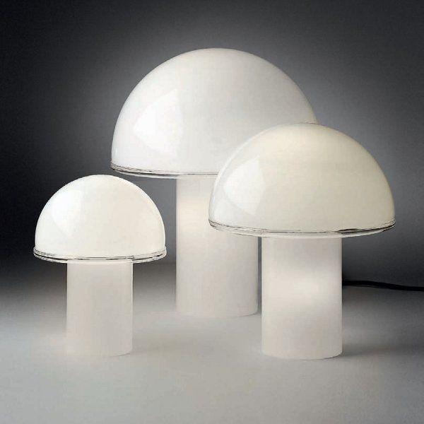 Onfale grande/medio/piccolo tavolo Tischleuchte