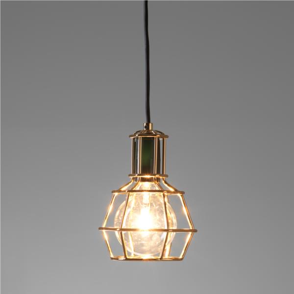Work Lamp Pendel Gold