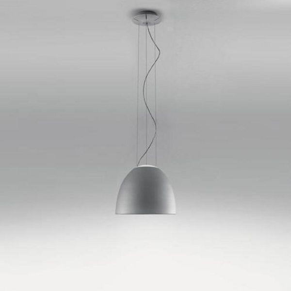 Nur mini LED Pendelleuchte aluminium