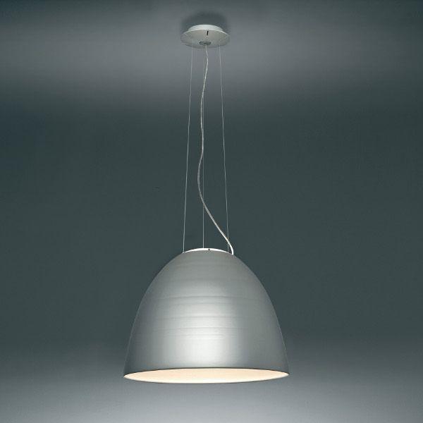 Nur Sospensione LED Pendelleuchte grau
