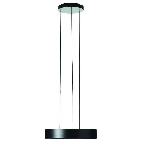 Nola LED Pendelleuchte schwarz / gold