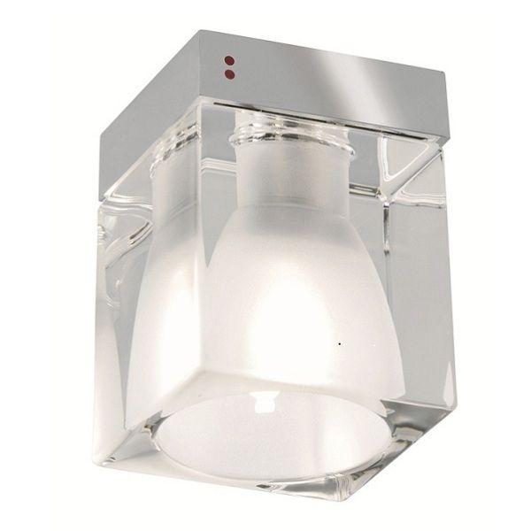 Cubetto Glass crystal E01 Deckenleuchte