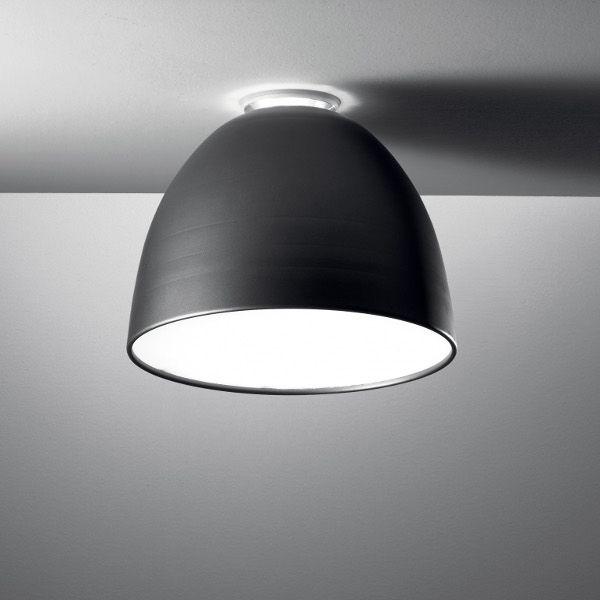 Nur Soffitto LED Deckenleuchte anthrazitgrau