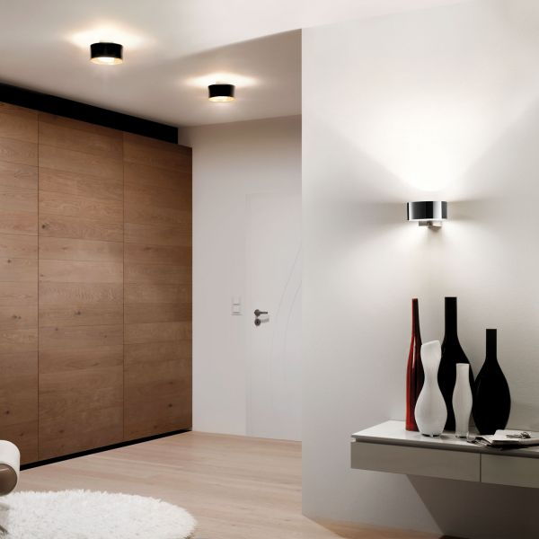 Cantara 300 LED Deckenleuchte schwarz/gold
