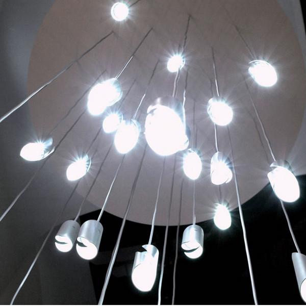 Knikerborker Hué 10 LED Pendelleuchte