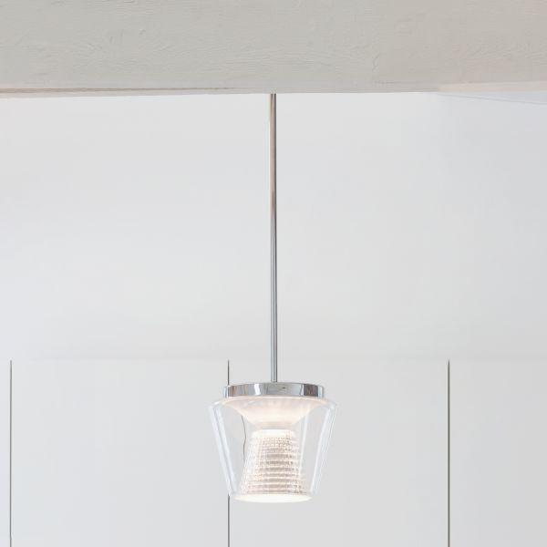 Annex klar/ Kristallglas LED Pendelleuchte