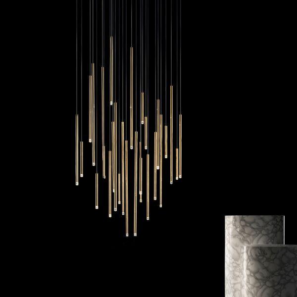 A-Tube Nano Pendelleuchte, Gold
