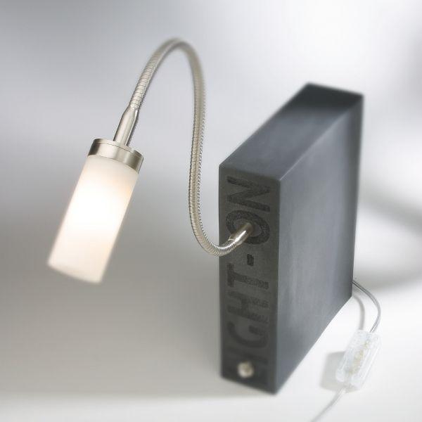 Light On PISA Tischleuchte Schwarz