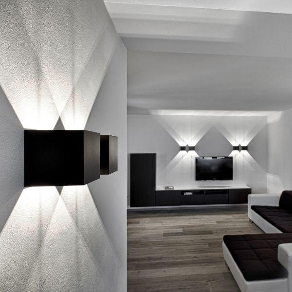 Dice Wall 120 LED Wandleuchte