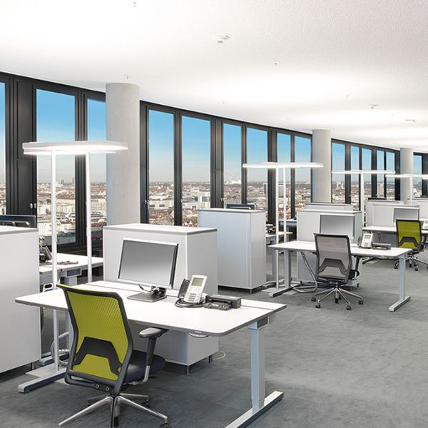 Office Air LED Stehleuchte