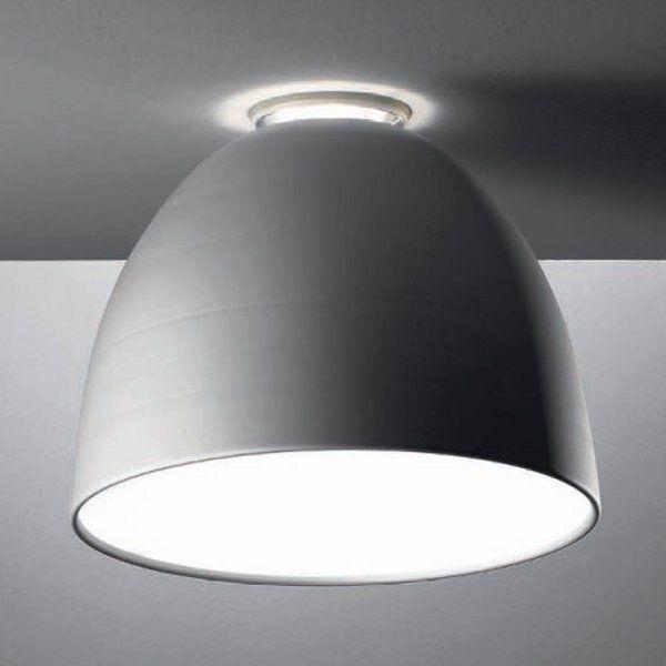 Nur soffitto Deckenleuchte, aluminiumgrau