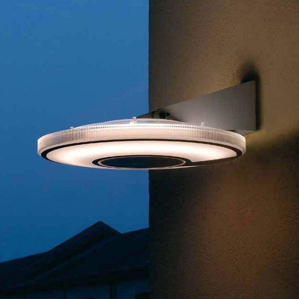 Lightdisc D41/40.04 Wandleuchte als Außenleuchte