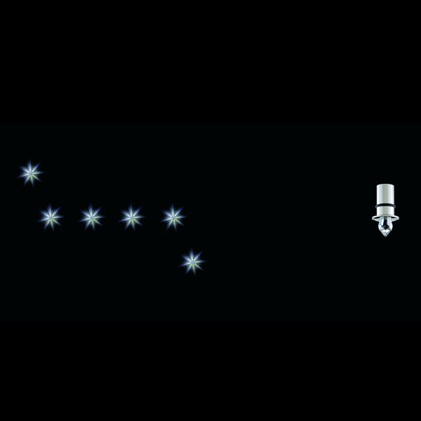 Anima 6 Sterne Einbaustrahler