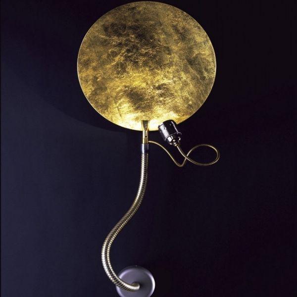 Luce d'Oro Parete Wandleuchte in gold