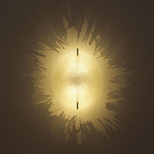 PK LED 21 Wand-/Deckenleuchte in Gold