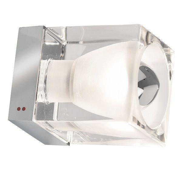 Cubetto Crystal Glass D28 G01 Wandleuchte