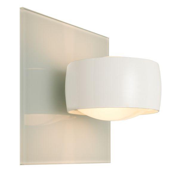 Grace Unlimited LED Wandleuchte, Weiß / Weiß