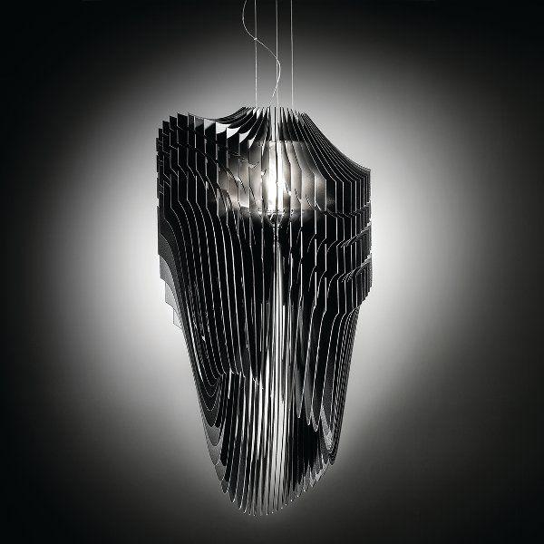 Avia Pendelleuchte schwarz Licht