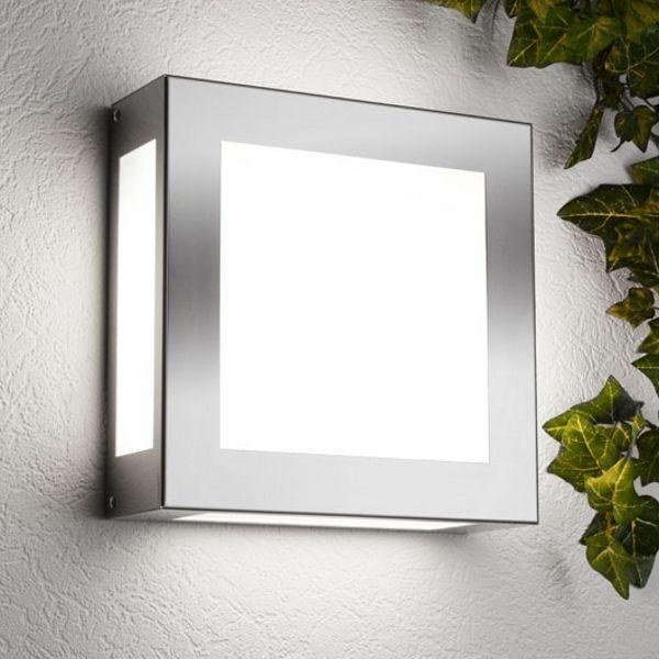 Aqua Legendo LED Wandleuchte Edelstahl