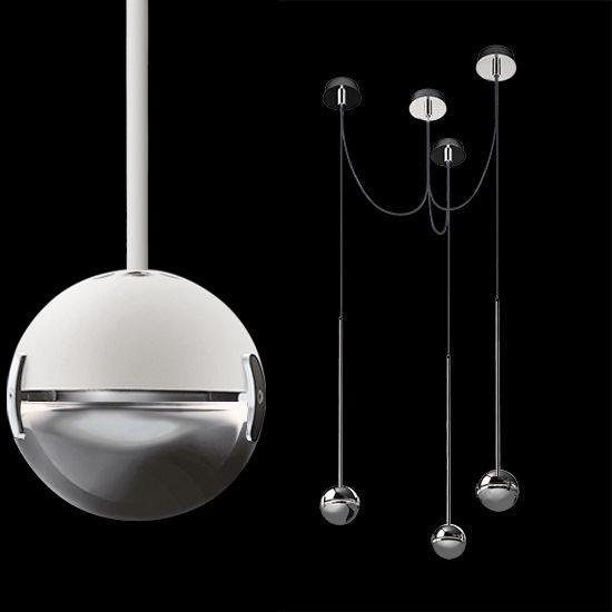 Cini&Nils Convivio sopratavolo tre LED Pendelleuchte