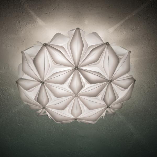 La Vie Wand-/ Deckenlampe, weiß