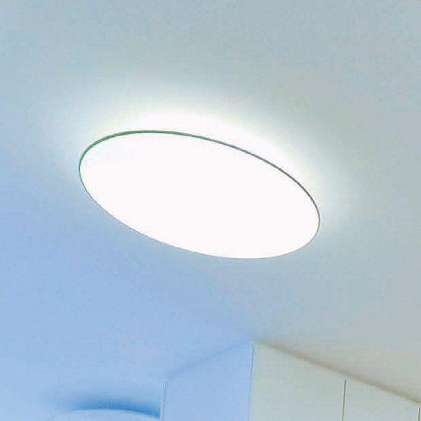 Float soffitto circolare Deckenleuchte, weiss