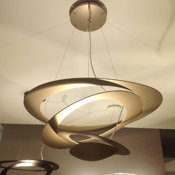Pirce Sospensione LED Pendelleuchte Gold