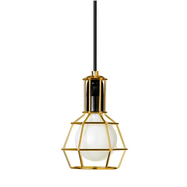 Work Lamp Hängelampe, gold
