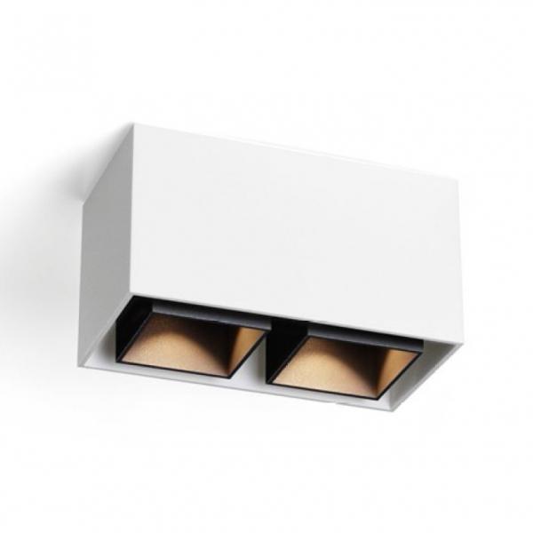 Box 2.0 LED Deckenaufbauleuchte Weiß/Schwarz