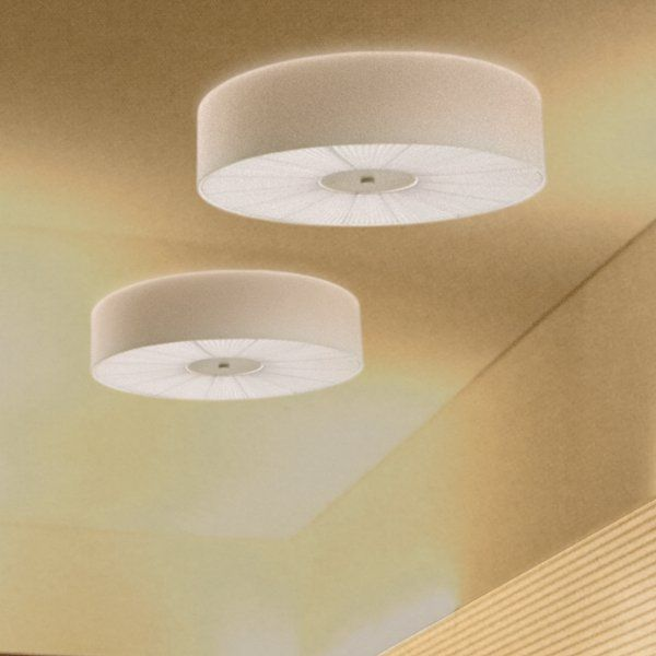 Skin PL 100 Ceiling fixture, ivory, white