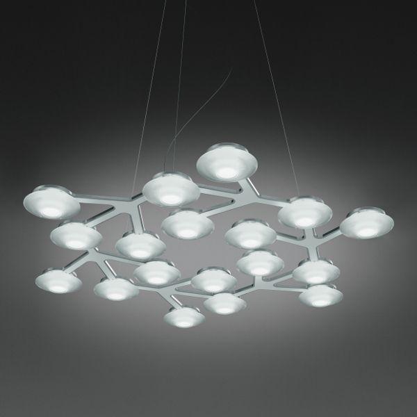 LED Net Circle Pendelleuchte